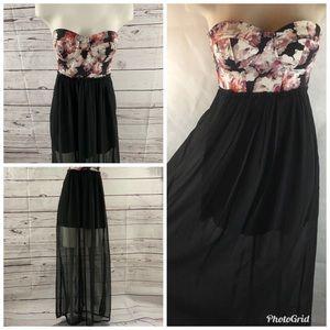 Woman's M Charolette Russe  Floral Corset  Dress
